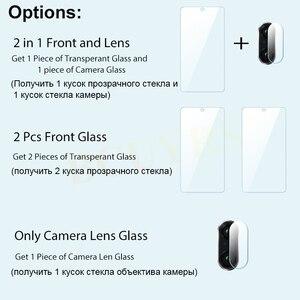 Image 5 - Protector de pantalla de vidrio templado 2 en 1 para Redmi Note 8 7 5 Pro, Protector de pantalla de vidrio templado para Redmi 7 7A K20 Pro 4X 5 Plus