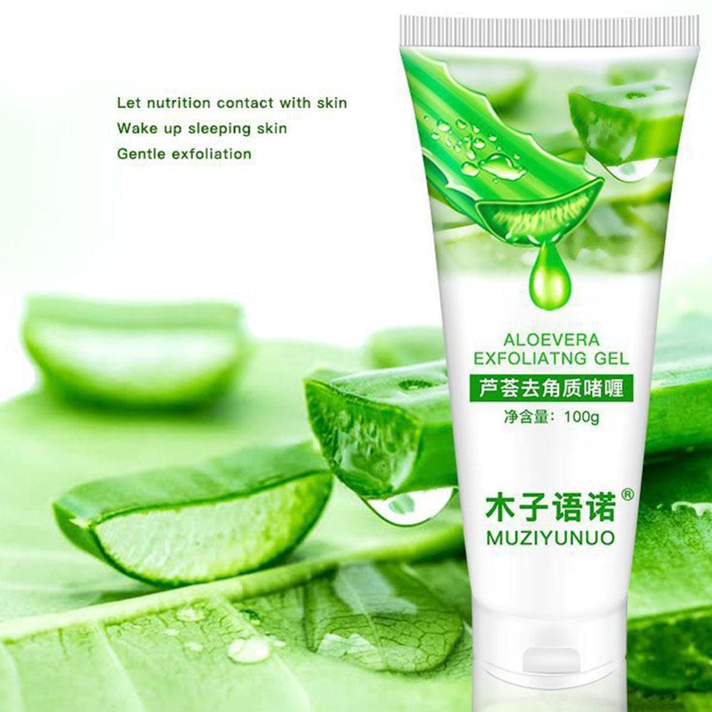 Fruit Acid Deep Cleansing Exfoliating Peeling Gel Moisturizes Face Exfoliating Soft Essential Face Cream Scrub Cleaner