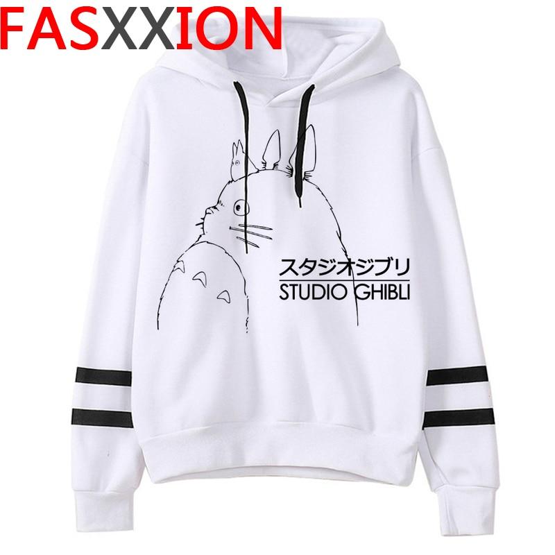 Totoro Studio Ghibli hoodies women streetwear grunge femme hoody sweatshirts hip hop streetwear 13