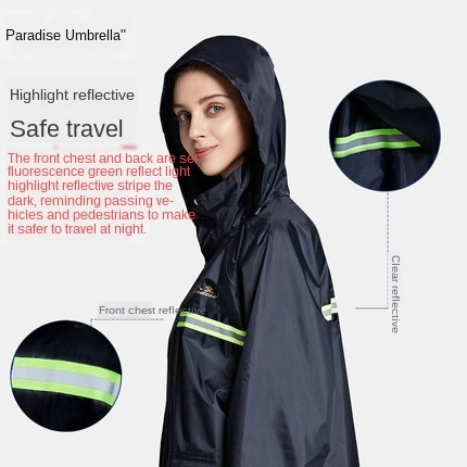 Electric Motorcycle Raincoat Women Rain Pants Set Full Body Waterproof Rain Coat Men Hat Jacket Hiking Rainwear Chubasquero Gift 1