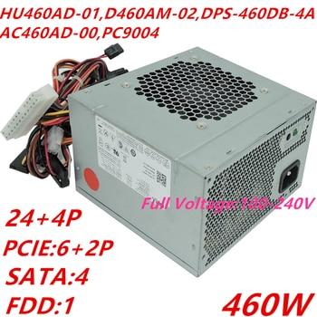 Новый блок питания для Dell XPS 8100 8500 8300 8500 8700 8900 HU460AD-01 D460AM-02/03 DPS-460DB-4A/2A/3A/10A AC460AD-00 PC9004