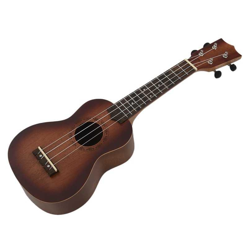 21 zoll Ukulele, Anfänger Gitarre, Kleine Gitarre, Können Spielen ein Musik Instrument