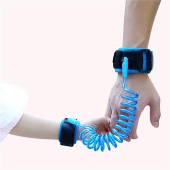 Kids Anti Lost Wrist Leash Adjustable 1.5-2.5m Outdoor Safety Harness Children Belt Walking Assistant Baby Walker Wristband