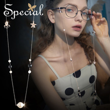 The SPECIAL Brand euramerican ocean series a multi-purpose flatter skin slimming face spectacle chain for women S2042N