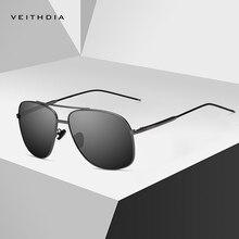 Бренд veithdia Винтажные Солнцезащитные очки Мужские квадратные поляризованные солнцезащитные очки Аксессуары мужские солнцезащитные очки для мужчин 2495