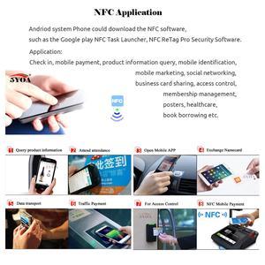 Image 4 - 6 قطعة NFC Ntag213 العلامة ملصق Ntag 213 لهواوي 13.56MHz العالمي تسمية تتفاعل مفتاح رمز دورية خفيفة