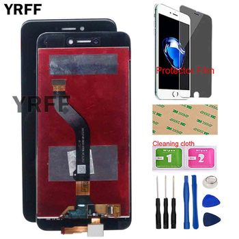 Mobile LCD Display For Huawei P8 Lite 2017 LCD Display Touch Screen Digitizer Panel Sensor Assembly Glass Tools Protector Film