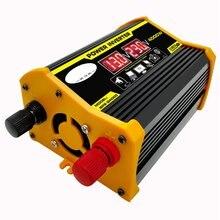 Car-Power-Inverter Adapter Led-Display To 12V 4000W Transformer-Modified Sine-Wave Usb-Voltage