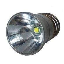 Módulo de luz LED de 26,5mm XML T6, tapa de lámpara Mo/OP, Reflector de aluminio para 501B 502B P60 M5, linterna de M6, 1/3/5 modos