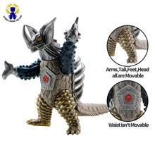 18cm Big Kaiju Anime Monster Action Figures Mech Skeleton Dinosaur PVC Figure Brinquedos For Boy Gift Model Collection Toys