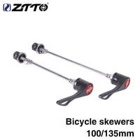 Hızlı bırakma üst çelik aks karbon kolu QR şiş MTB veya yol bisikleti 100mm 130mm 135mm