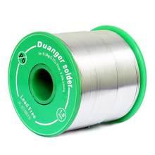 Fil à souder Sn99 Ag0.3 Cu0.7 sans plomb, 0.6/1mm, noyau de colophane, manuel ou automatique, accessoires de soudage