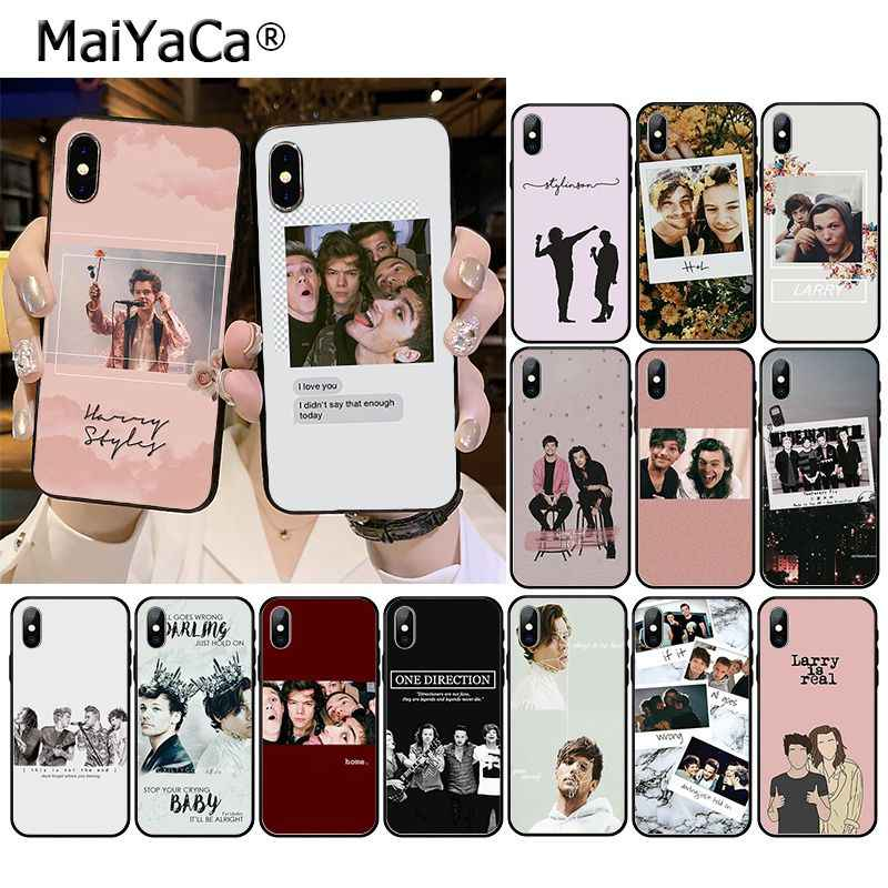 Maiyaca Larry Stylinson Telefoon Accessoires Case Voor Iphone 11 Pro Xs Max Xs Xr 8 7 6 Plus 5 5S Se