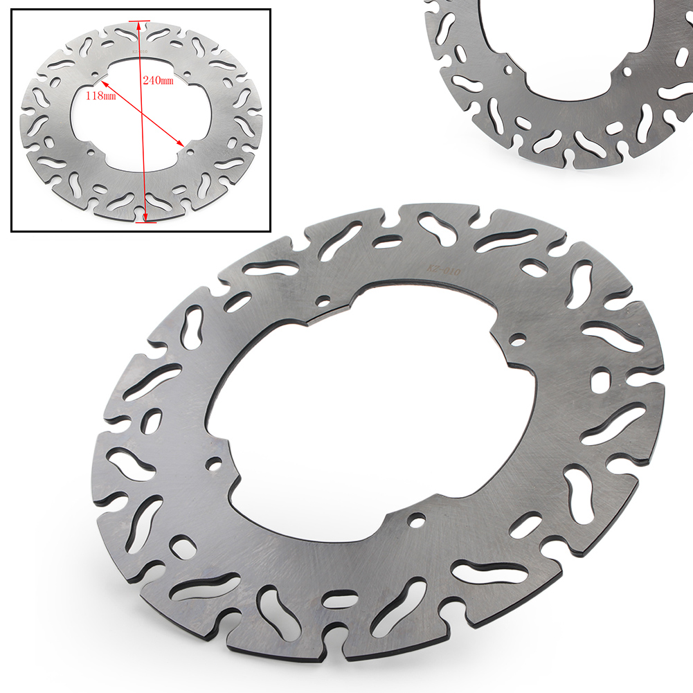 Motorcycle Disc Rotor Front Brake Disc 240mm For <font><b>Honda</b></font> XR250 CR125 XL250 CRM250 XLR250 XR600R XR500R <font><b>XR</b></font> 400 250 <font><b>350</b></font> image