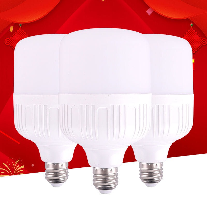 B22 E27 LED Bulb Light 5W 10W 15W 20W 30W 40W 50W No Flicker 220V Energy Saving Lamp Lampada LED Spotlight Table Lamp Lamps