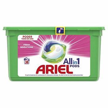 Ariel 3en 1Sensations Capsules de détergent 38 lavages