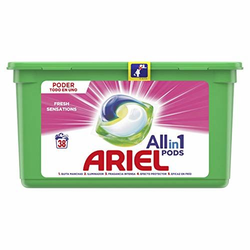 Ariel Washing Machine Detergent Capsules Sensations 3en1 38 Washes – 1000 GR