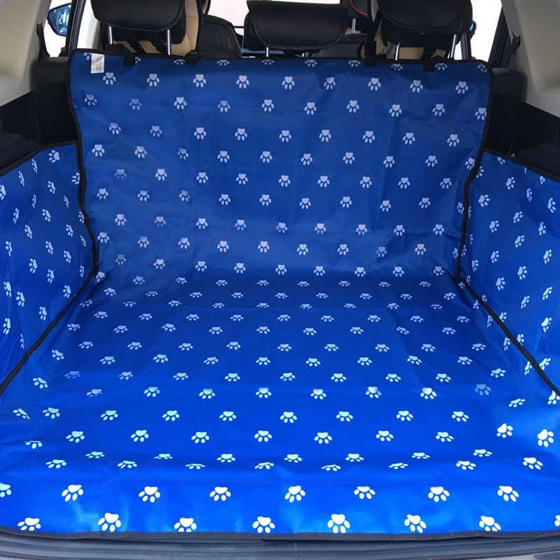 CAWAYI kulübesi Pet taşıyıcılar köpek araba klozet kapağı gövde mat kapak koruyucu taşıma kediler köpekler için transportin perro autostoel honda