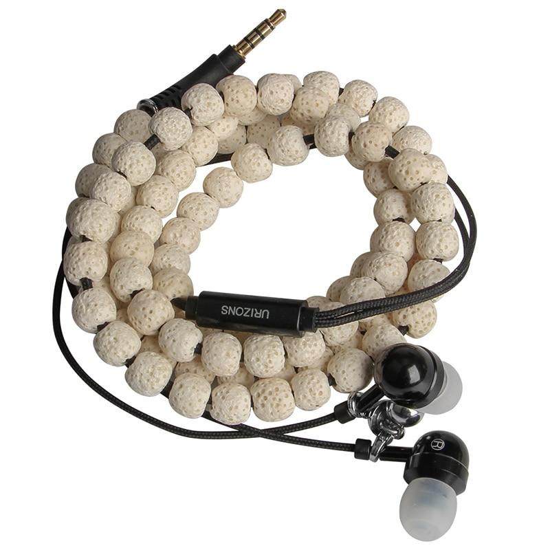 Men 39 s Bracelet Fashion 2019 New Vintage Bracelet Men 39 s Simple Trinkets Classic Stone Bead Bracelet Men 39 s Jewelry Gift earphone in Phone Earphones amp Headphones from Consumer Electronics
