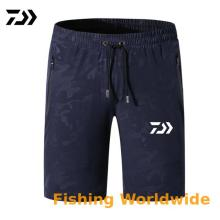 Летняя верхняя одежда Daiwa шорты брюки для мужчин Спорт на открытом воздухе дышащая одежда для рыбалки быстросохнущая камуфляжная одежда для рыбалки