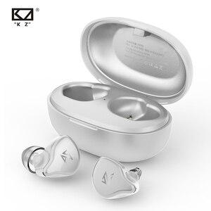 Image 2 - KZ S1 S1D TWS Wireless Bluetooth 5.0 Earphones Touch Control Earphones Dynamic/Hybrid Earbuds Headset ZSX ZSN PRO C12 O5 X1 E10