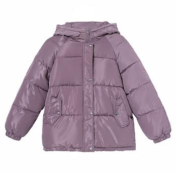 Mode nouvelle veste d'hiver femmes à capuche Parka femmes veste manteau Thicke vers le bas vêtements d'extérieur BF coton rembourré femme veste mujer 1