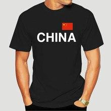 China camiseta-texto e bandeira s a 3xl preto povo república beijing engraçado roupas casual manga curta tshirts 5760a