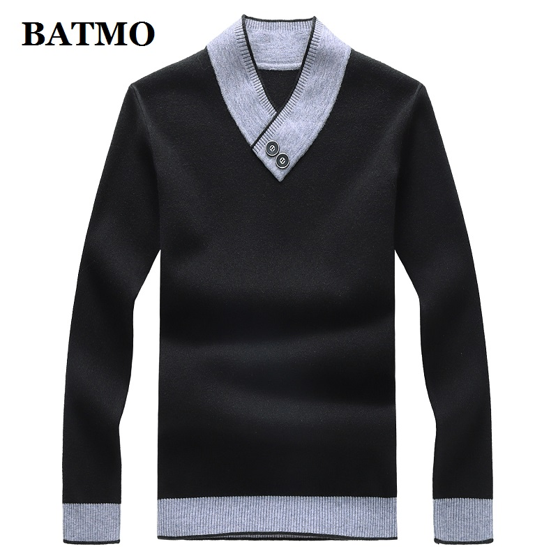 BATMO 2019 New Arrival Autumn High Quality Casual Sweater Men,men's Sweater,plus-size M-8XL