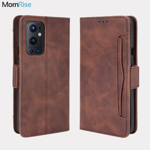 Wallet Cases For Oneplus 9 Pro Case Magnetic Closure Book Flip Cover For One Plus 9 Leather Card Holder Mobile Phone Bags