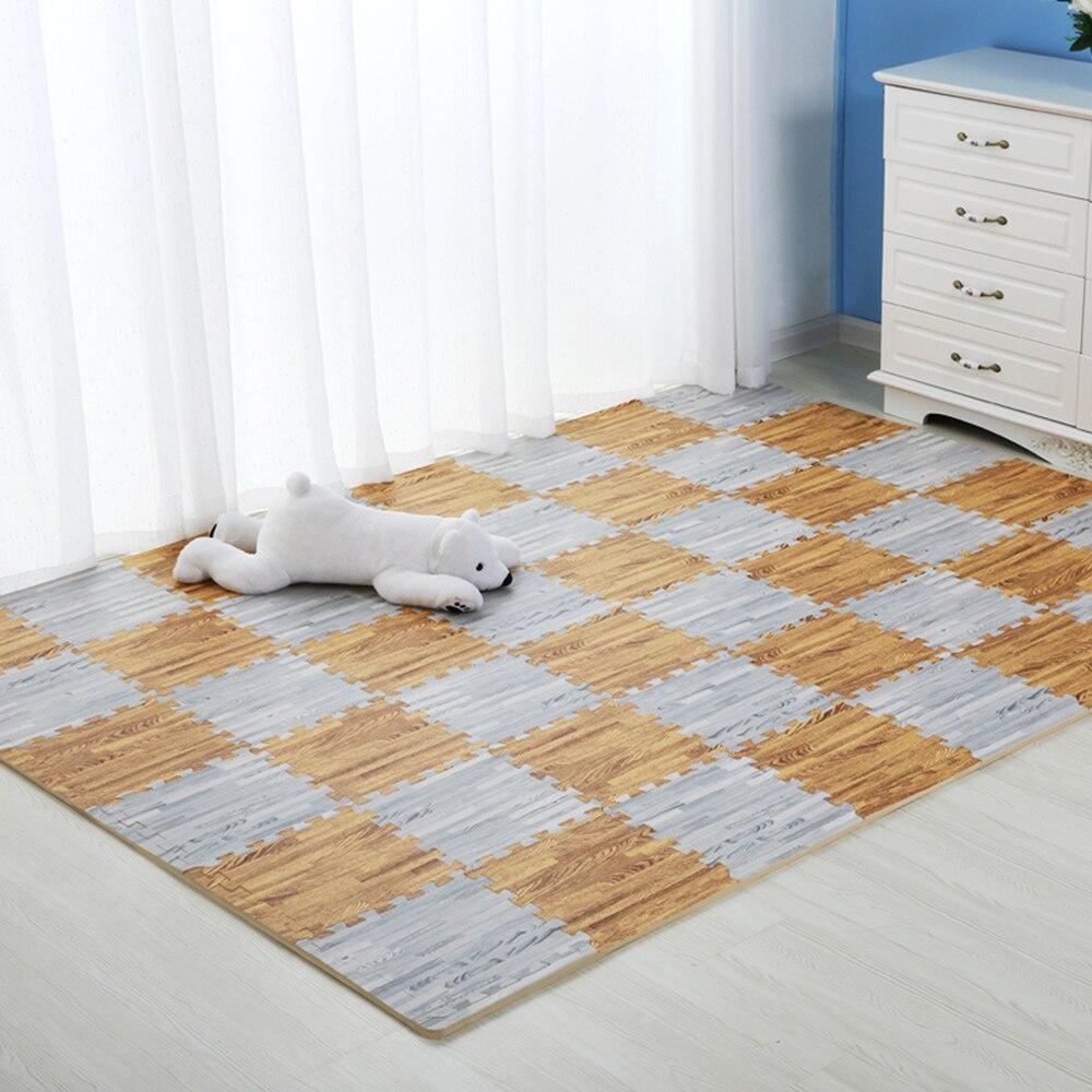 9 Pcs Baby Play Mat Floor Children Game Toy Foam Mat Carpet Crawling Rug PE Kids Playing Mat In The Living Room