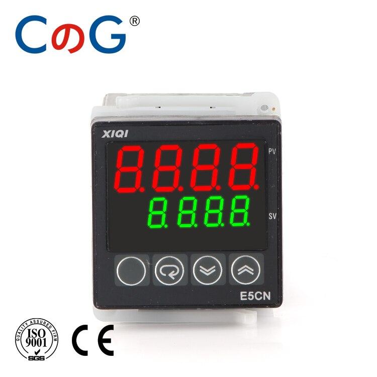 CG E5CN 48*48mm Multi-input 0-20mA 1-5V 24VDC 220VAC LCD Screen Has RS485 Digital Intelligent Temperature Controller Thermostat
