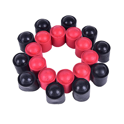 10Pcs Billiard Cue Bumpers Snooker Pool Cue Protective Case Rubber Bumpers  LDDS
