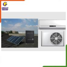 new split type conditioning home hybrid wall mounted air conditioner 3000w solar system with CE certificate marsrock 7000w ac220v dc48v 24000btu inverter air conditioner cooling heating hybrid for home on grid solar air conditioner