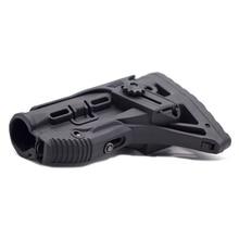 高品質ナイロン調節可能な拡張在庫ペイントボールのアクセサリーエアガン空気銃 aeg M4 ak ゲルブラスター J8 J9 cs スポーツ
