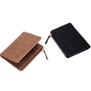 100% high quality leather men wallet coin purse short wallets for men with card holder photo holder coin pocket short men wallets 100