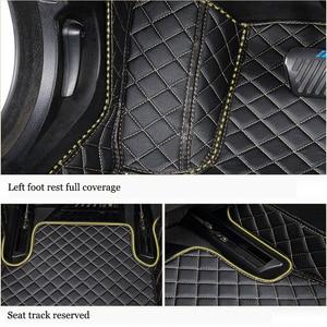 Image 5 - kalaisike Custom car floor mats for Nissan All Models qashqai x trail tiida Note Murano March Teana car styling car accessories