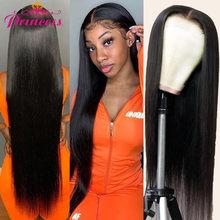 Güzel prenses saç HD şeffaf 13x4 dantel ön İnsan saç peruk ön koparıp brezilyalı düz dantel ön peruk remy