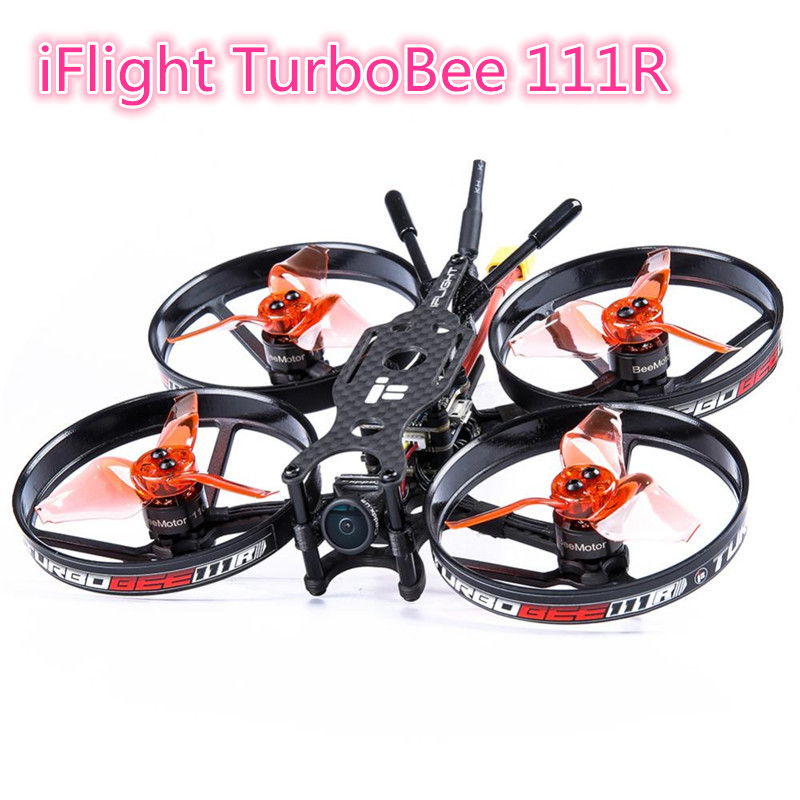 IFlight TurboBee 111R 4S 2.3Inch F4 V2 Flight Controller FPV Racing RC Drone Quadcopter Multicopter PNP Model Outdoor Toys
