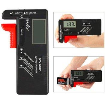 93 сетки батарея Емкость тестер коробка для хранения прозрачный измерительный Органайзер чехол Аксессуары для AAA AA 9V C D батареи
