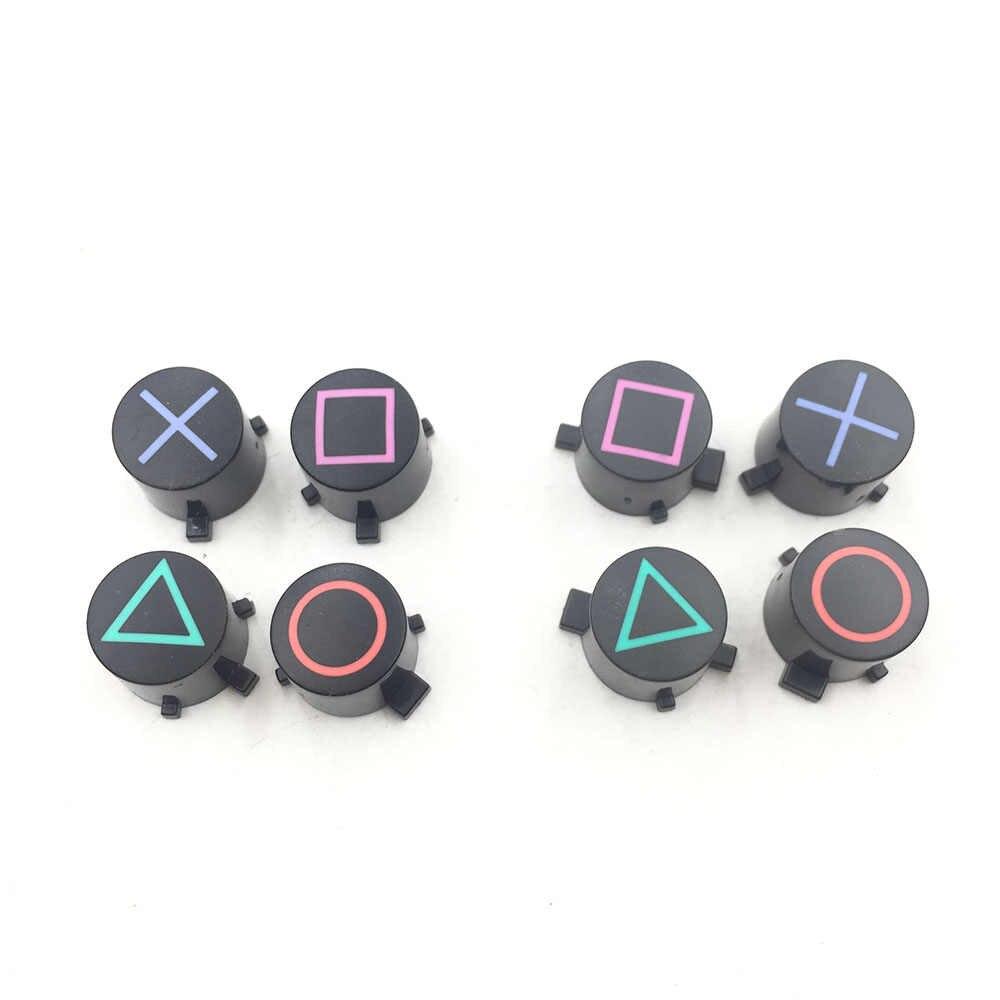 פלסטיק ABXY כפתורי Dualshock 4 Slim פרו בקר עבור PS4 בקרת Pad