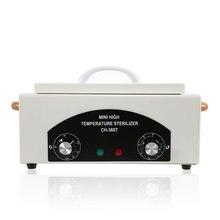נייד מיני 110 / 220V טמפרטורה גבוהה מעקר מגבת מניקור כלים ארון חיטוי עיקור ניקוי מכשירי חשמל