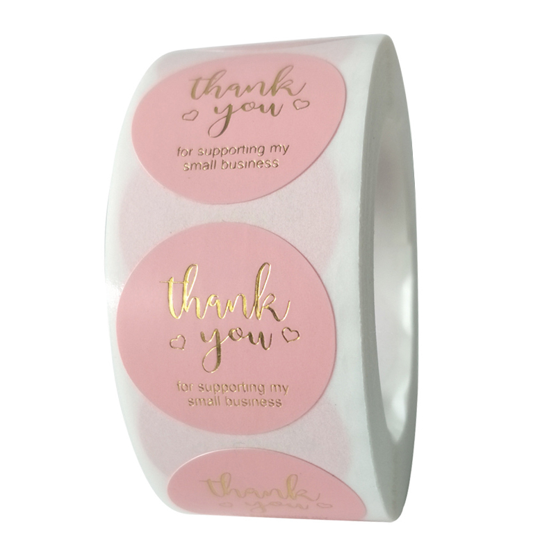 Stickers Seal-Labels Envelope-Supplies Supporting Business Thank-You Wedding-Party-Favors
