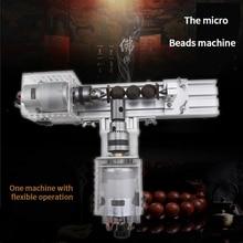High quality multi-function mini bead locomotive bead machine household bead lathe DIY wood bead woodworking tool set
