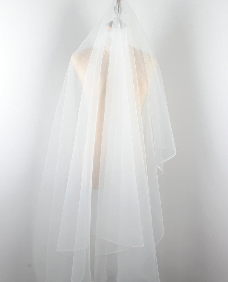 Super fine soft ivory pale cream illusion tulle fabric 150cm wide dainty mesh