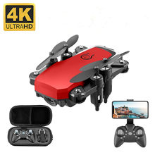 Mini RC Drone 4K HD with Camera Remote Control Helicopter One-Key Return WIFI Foldable Quadcopter Toy