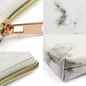 Manufacturers Direct Selling Maange Maange Marbling Cosmetic Bag Makeup Tool Portable Cosmetic Bag Cross Border Hot Sales 4