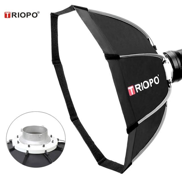 TRIOPO 120cm Bowens Mount Portable Octagon Umbrella Outdoor Video Softbox w Carrying Bag for Photography Studio Soft Box