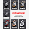 ABS Carbon Fiber Car Remote Key Case Cover For Ford Fusion Edge Explorer Taurus Mustang F-150 For Lincoln MKC MKX MKZ Keychain discount