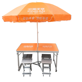 Folding table outdoor stalls push folding table dinette portable home simple promotion table