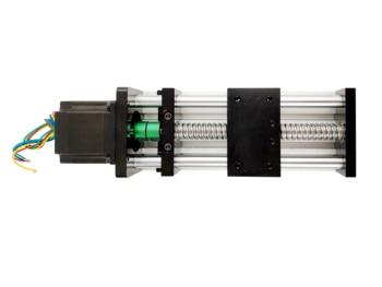 Effective Length 50mm-700mm Ball Screw Linear Rail Guide Slide Stage Actuator CNC Motion Table Motorized+nema 23 Stepper Motor
